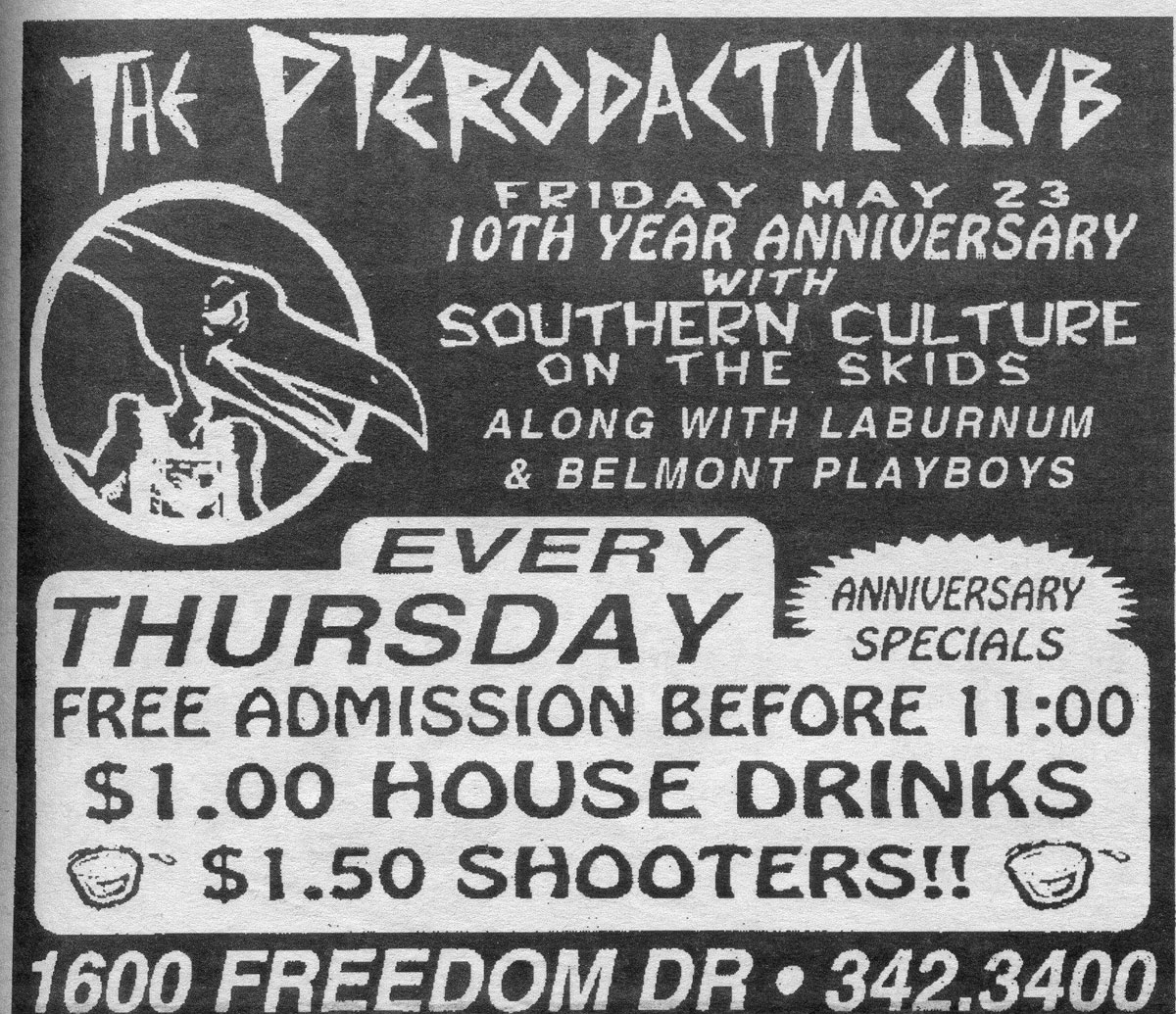 Charlotte nc show archive chronological by date southern culture on the skids laburnum belmont playboys hexwebz Image collections
